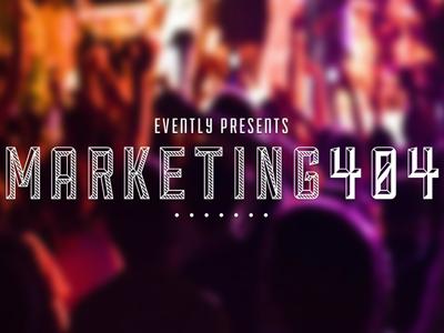 Event graphic marketing gaussian blur photo bur title logo