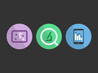 Au Insights Feature Icons flat icons statistics tactics analytics analysis data audience big strategy ui ux