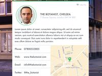 Venue information UI