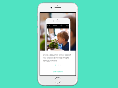 iOS printing app walkthrough ios ui ux walkthrough coach screenshot mobile