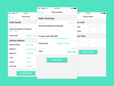 Checkout Process ui ux checkout cart shopping order delivery payment