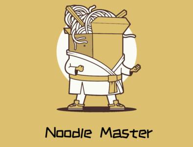 Noodle Master 02 icon vector flat design illustration