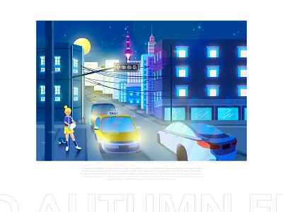 Mid-autumn Festival-ShangHai illustration paintings