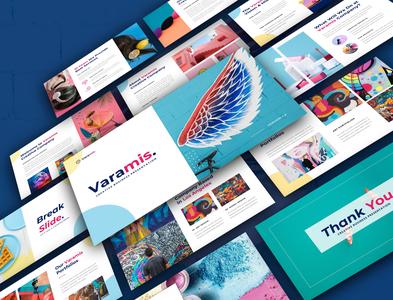 Varamis- Creative Presentation Template