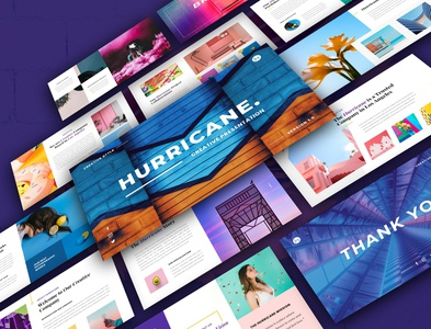 Hurricane-Creative Presentation
