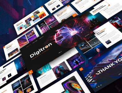Digitron- Creative Business Presentation