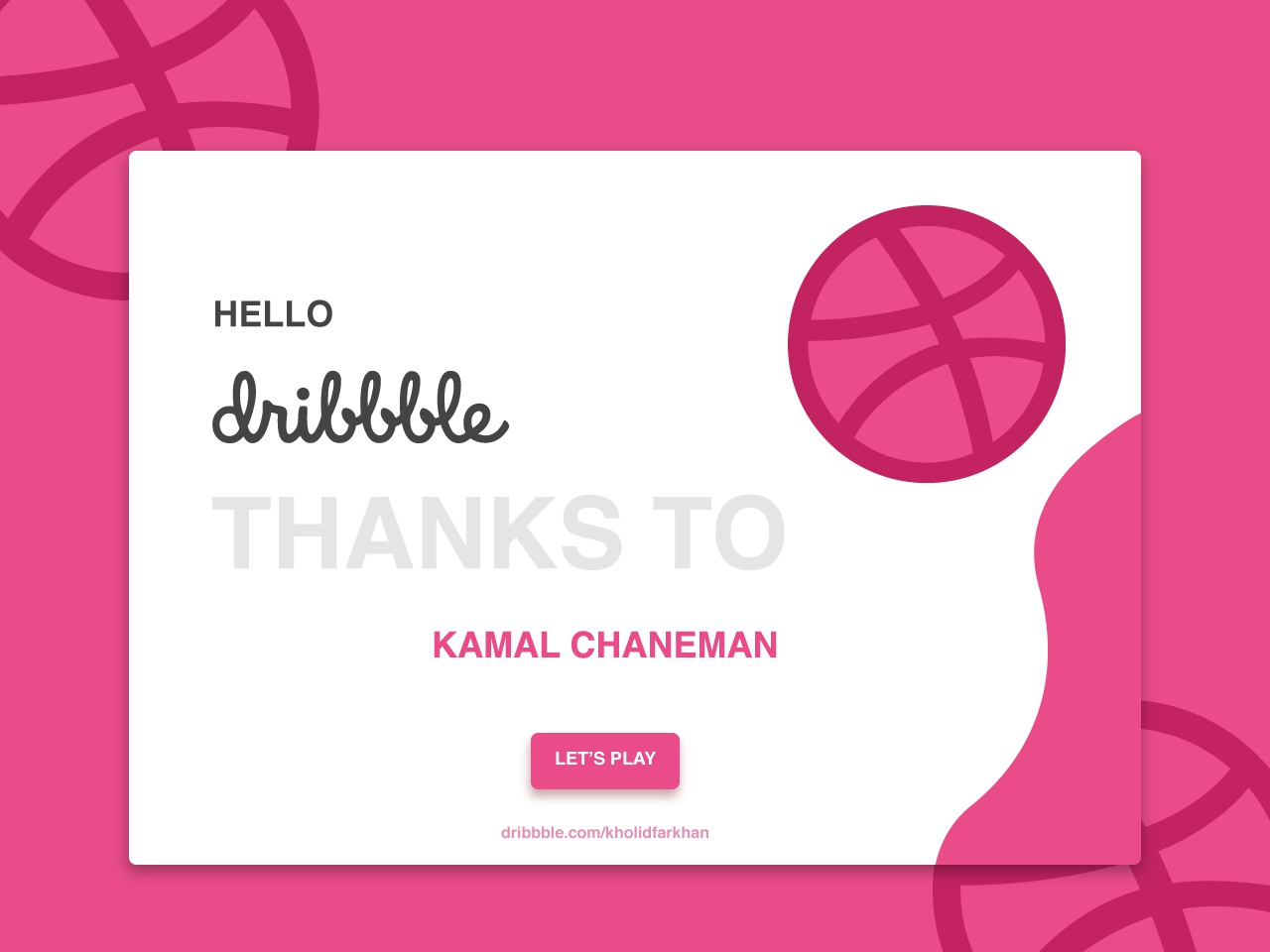 Hello Dribbble :) web ux ui illustration design branding
