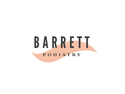 Barrett logo foot podiatry