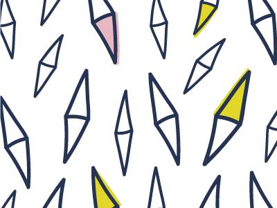 Lucy patterns diamond fabric