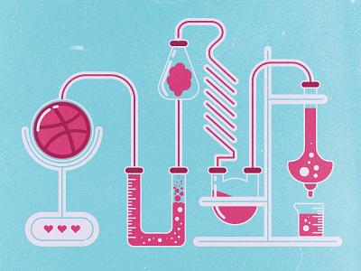 Dribbble Lab chemistry glass beaker lab dribbble