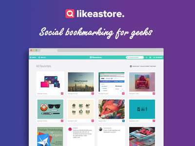 Likeastore.com feed 80s style preview