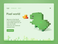 Pixels  world