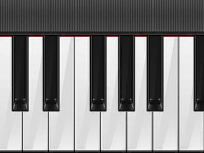 Real Piano Keyboard piano keyboard real