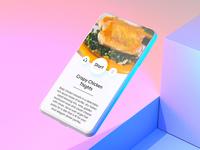 recipe app WIP