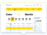 Cebupacific Flight Search