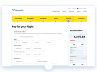 Airport website Payment