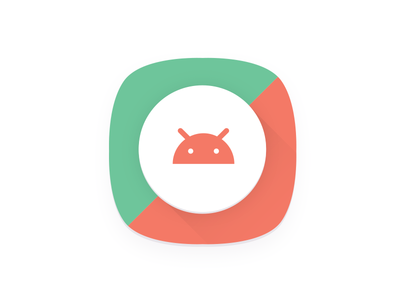 Android O Icon template android icon vector ai psd template free icon android