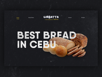 Bread website landing page