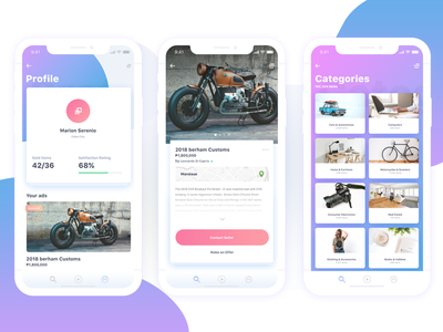 Buy and Sell WIP uiux ui ux violet iphone iphone x buy and sell iphone