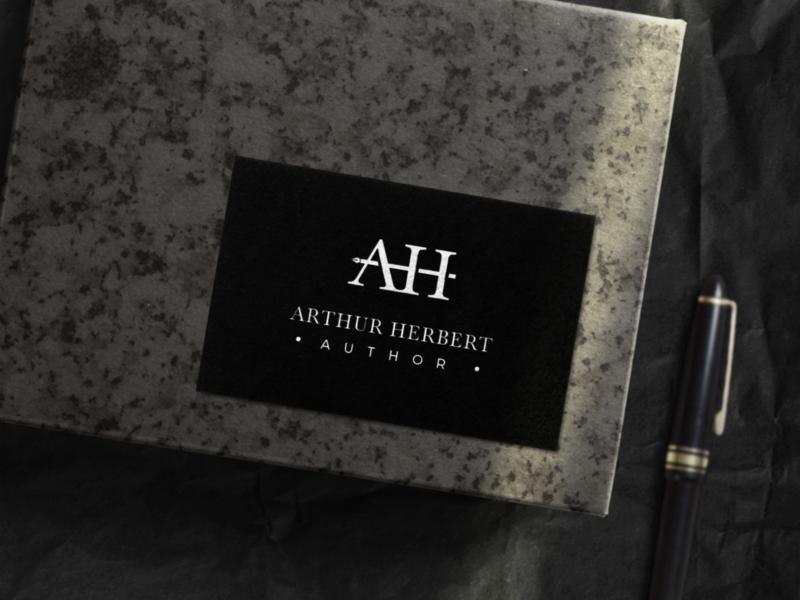 Author Logo architecture branding tick illustration diamond right idenity design excellent wordmark logo