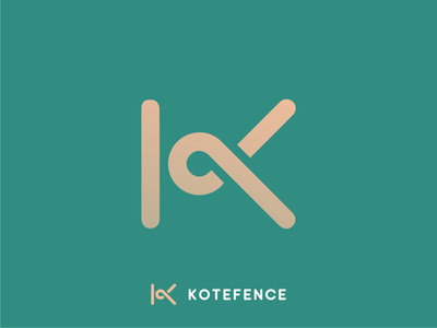 Kotefence Identity Design fence kote camera architecture branding illustration diamond right idenity design excellent wordmark logo
