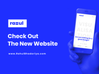 Rahul Bhadoriya Personal Website
