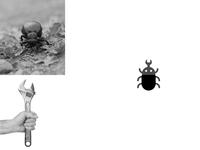 Wrench + Beetle   Animal logo