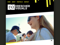 Drescher Visuals Website Design
