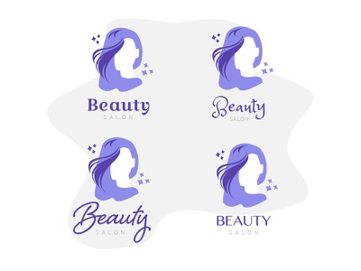 Salon Style Logo Concepts logo type cosmetics beauty salon