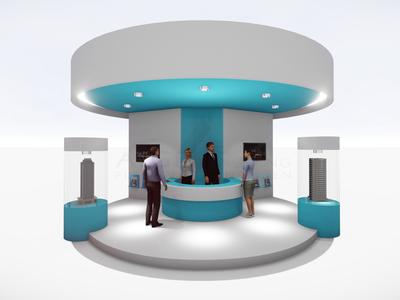 Exhibition stand design template | Messestand Design