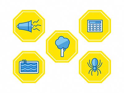 ADT Icons icon vector