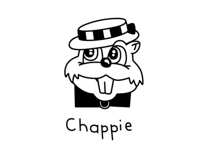 Chappies - Did You Know? illustration vector chappies packaging