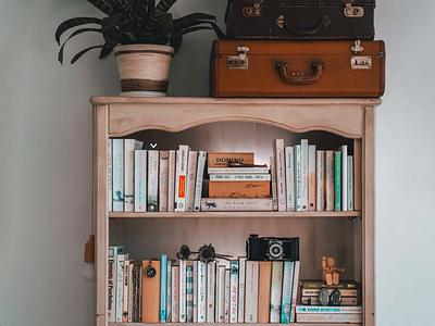 Book Shelf AR Concept 📚 book shelf ui design animation vr ar app library books adobe xd