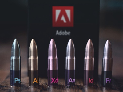 Adobe Bullets 💥 photoshoot inspiration photoshop graphicdesign color bullets