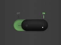 Draggable Skeuomorph Switch