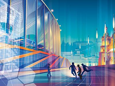 rostelecom 2017 design vector illustration graphic