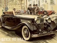 Illustration for vintage travel posters