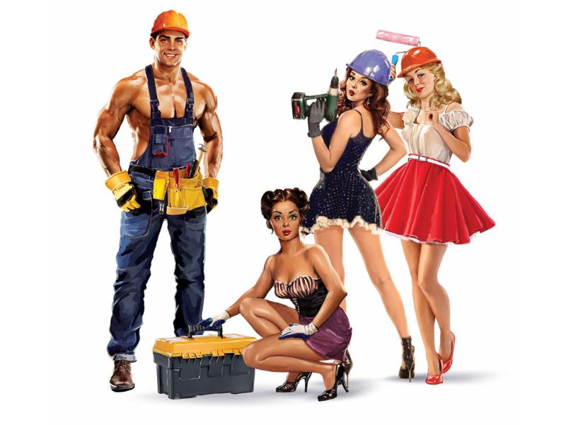 Builder girls