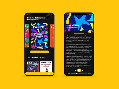 / Book Application / app design book app application book book application mobile design photoshop uidesign mobile ui mobile design adobe xd webdesign ui