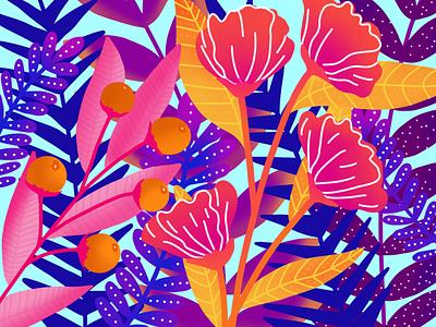/ Flower Illustration / illustration art draw drawing photoshop flower illustration flower illustration