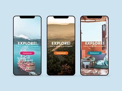 / Travel Application / travel travel app app design mobile design uidesign mobile ui mobile design adobe xd webdesign ui