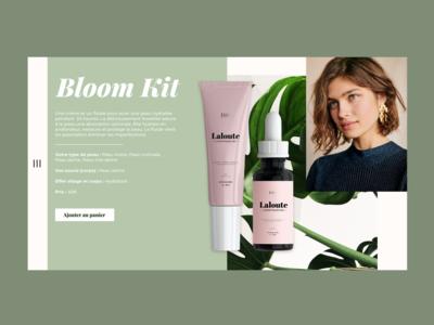 / Webdesign Cosmetic / shop cosmetic cosmetics desktop design branding uidesign adobe xd design webdesign ui