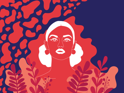 / Woman Illustration / grapgic design illustration art illustrator woman illustration woman portrait woman vector illustration