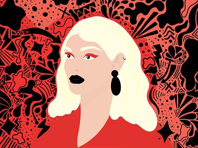/ Woman Illustration / woman illustration woman portrait illustrator design vector illustration