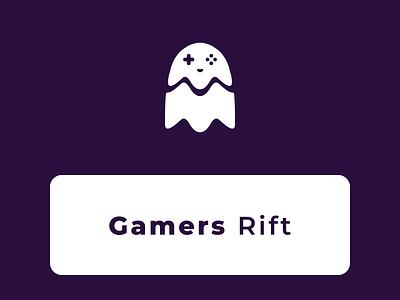 Gamers rift youth event website app drawing freebies rift gamer joystick discord game symbol ghost freebie vector brand challenge branding design logo