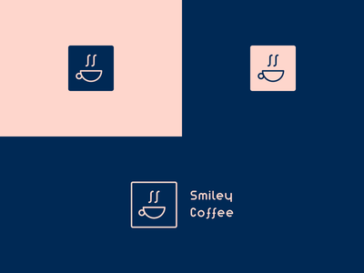 smiley coffee logo smiley starbucks coffee logo coffee cup coffee icon app dailyicon brand graphicdesign design branding identity illustration logo