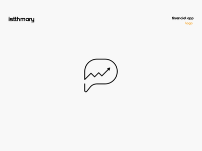 Istthmary   1 app financial messenger abstract finance illustrator brand graphicdesign dailyicon challenge identity branding design logo