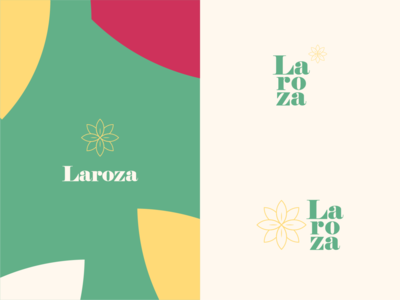 Laroza | Visual Identity poster elegant vintage monogram magazine social media fashion brand fashion brand visual identity identity illustration branding design logo