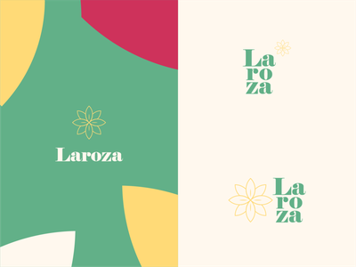 Laroza   Visual Identity poster elegant vintage monogram magazine social media fashion brand fashion brand visual identity identity illustration branding design logo