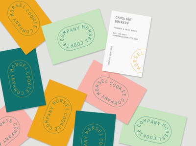 Morsel Cookie Co Business Cards